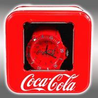 コカ・コーラ シリコンウォッチ メタリックver.6【レッド】