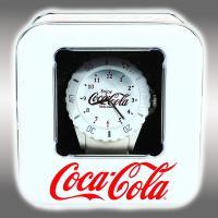 コカ・コーラ シリコンウォッチ メタリックver.6【ホワイト】