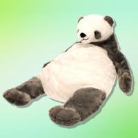 【シルバー】くったりパンダの SUPER BIG ぬいぐるみ
