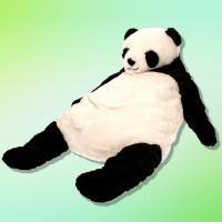 【ブラック】くったりパンダの SUPER BIG ぬいぐるみ