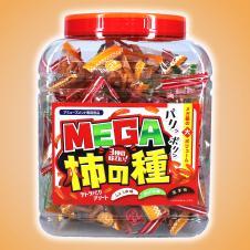 柿の種3種入り MEGA角ポット
